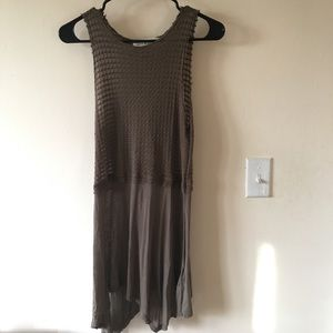 Olive Shirt/Dress